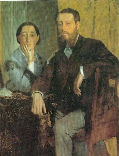 Monsieur And Madame Edmondo Morbilli By Degas