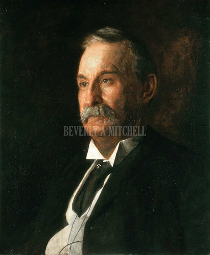 Portrait Of Edward Taylor Snow ByThomas Eakins