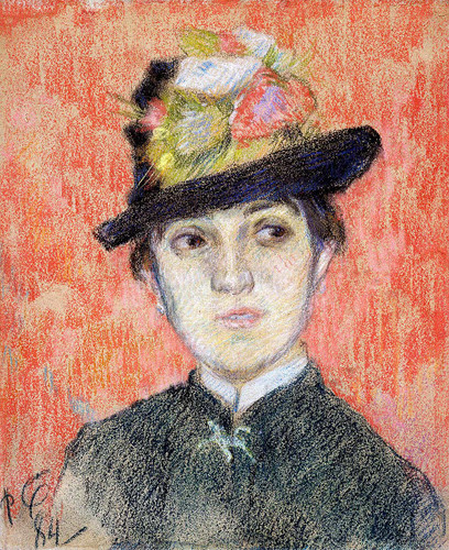 Portrait Of Mademoiselle Manthey ByPaul Gauguin