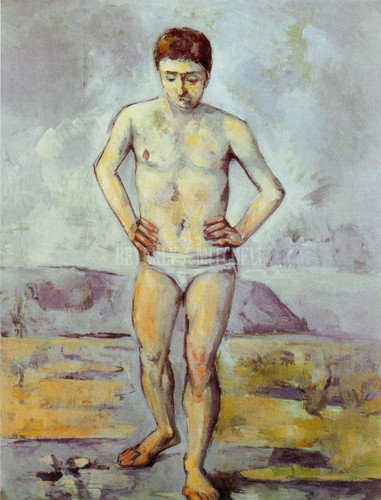 The Great Bather By Paul Cezanne