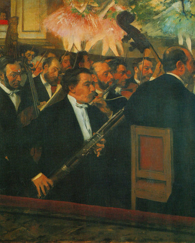 The Opera Orchestra By Edgar Degas