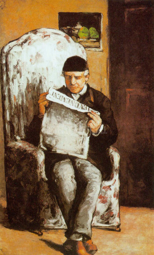 Portrait Of The Artist S Father By Paul Cezanne