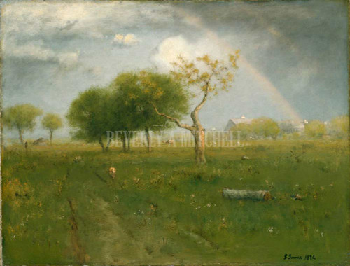 After A Summer Shower By George Inness