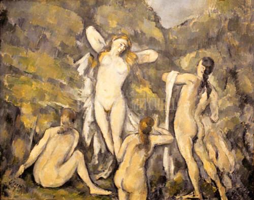 Bathers By Cezanne Paul