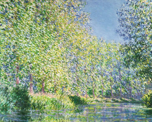 Bend In The Epte River Near Giverny By Monet Claude