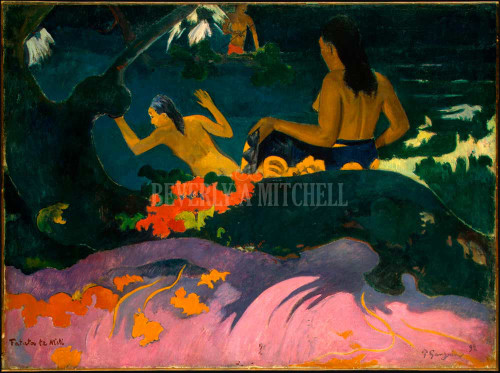 By The Sea Fatata Te Miti ByPaul Gauguin