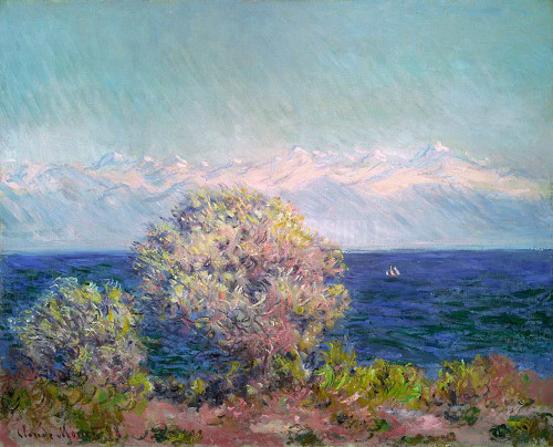 Cap D Antibes Mistral By  Monet Claude