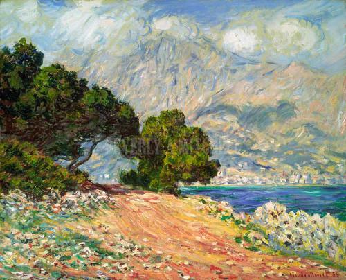 Cap Martin By Monet Claude