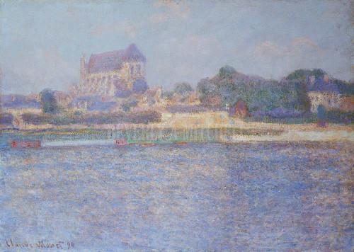 Church At Vernon By Monet Claude