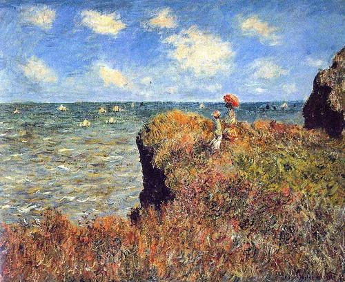 Cliffs Walk At Pourville 1882 By Claude Monet