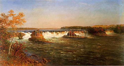 Falls Of St. Anthony by Albert Bierstadt