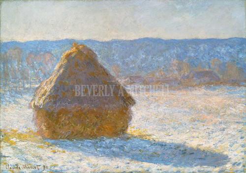 Grainstack Snow Effect By Monet Claude