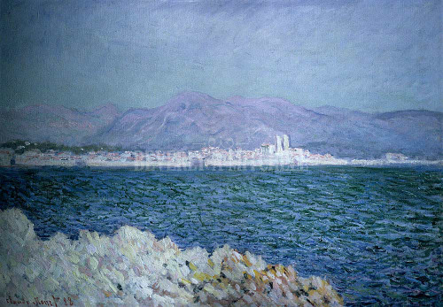 Gulf Of Antibes By Monet Claude