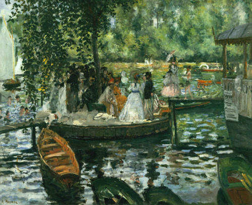 La Grenouillere 1869 By Claude Monet