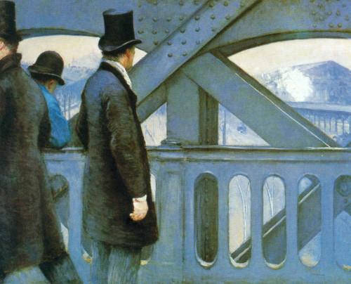 Le Pont De L Europe By Gustave Caillebotte