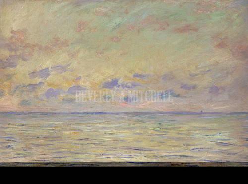 Marine At Etretat By  Monet Claude