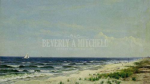 Ocean Beach Nj by David Johnson