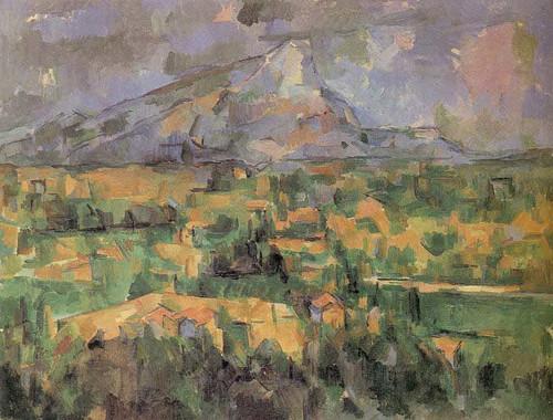 Mont Sainte Victoire By Paul Cezanne