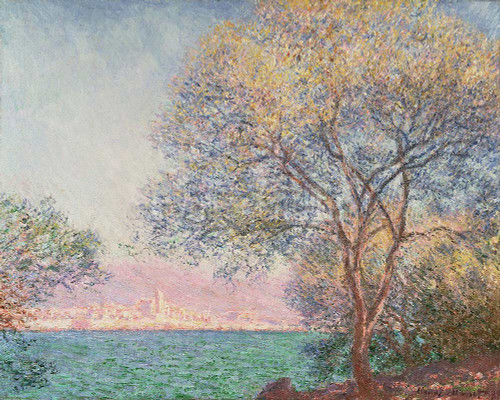 Morning In Antibes By  Monet Claude