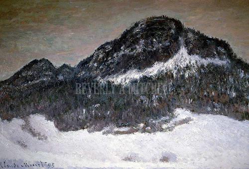 Mount Kolsaas Norway By Monet Claude