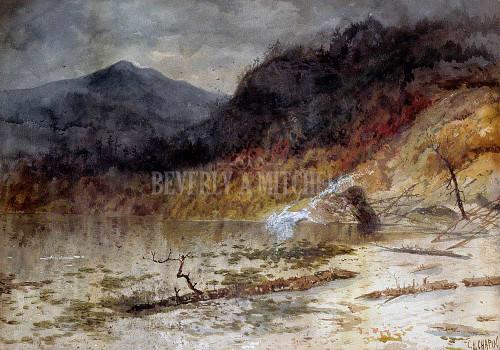 Mountain Lake By Chapin Charles H.