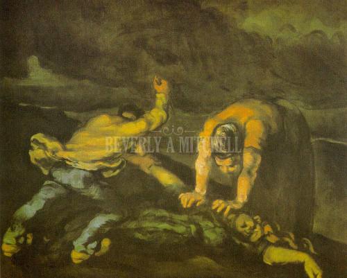 Murder By Paul Cezanne