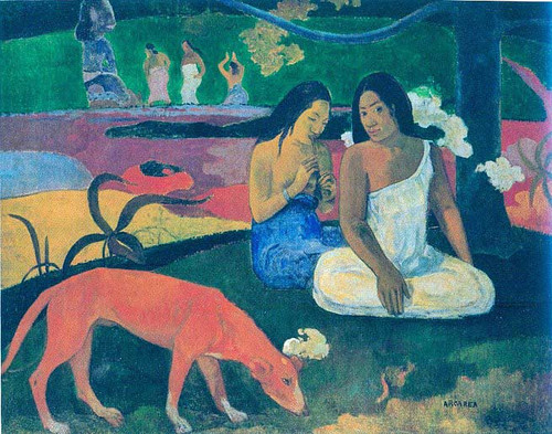 Pastime 1892 By Paul Gauguin