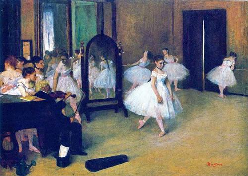 The Dancing Class 1872 By Edgar Degas