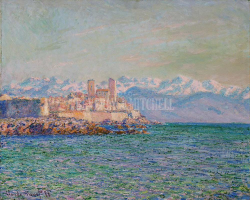 The Fort Of Antibes By Monet Claude