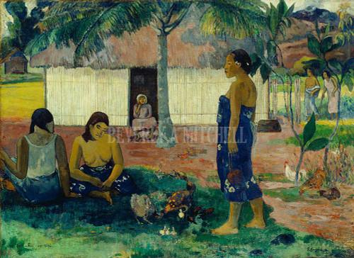 Why Are You Angry No Te Aha Oe Riri By Paul Gauguin