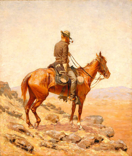 The Lookout By Frederic Remington