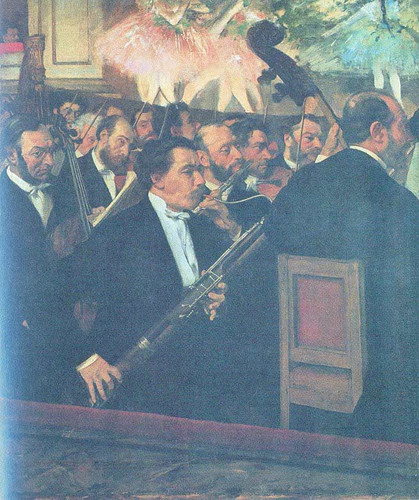 The Opera Orchestra 1868 1869 By Edgar Degas