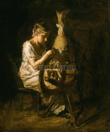 The Spinner ByThomas Eakins