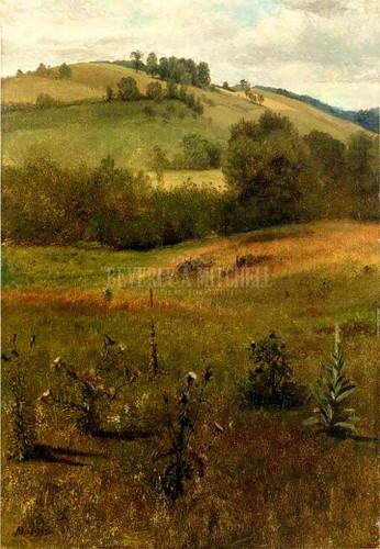 Green Mountains Vermont by Albert Bierstadt