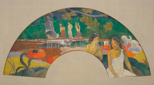 Arearea Joyousness Ii By Paul Gauguin