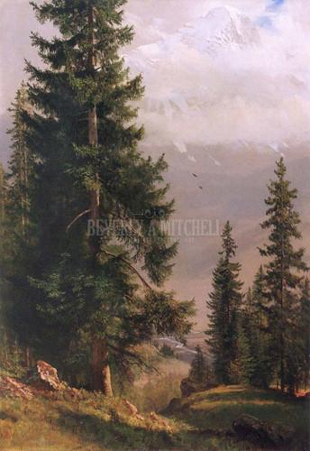 Grindelwald Valley by Albert Bierstadt