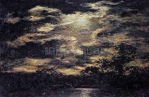 Moonlight And Clouds By Blakelock Ralph Albert