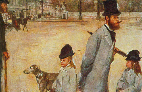 Place De La Concorde By Edgar Degas