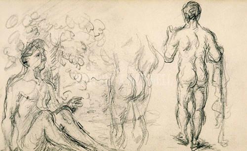 Sketchbook Ii By  Cezanne Paul