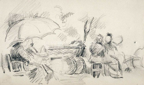 Sketchbook  By  Cezanne, Paul