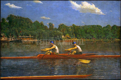 The Biglin Brothers Racing ByThomas Eakins