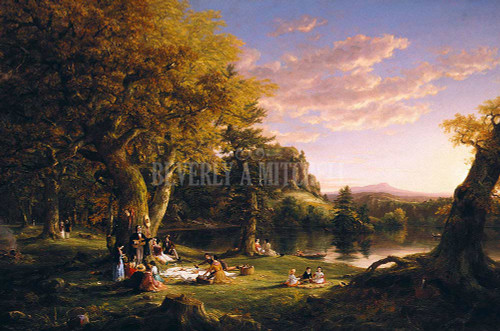 The Pic Nic By Thomas Cole