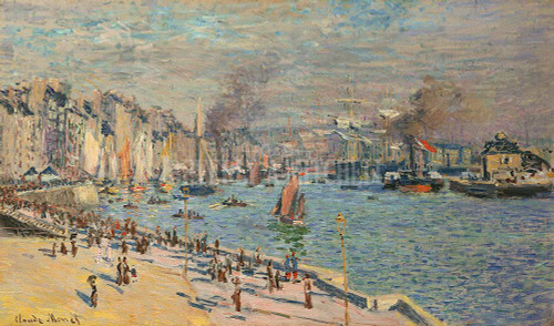 The Port Of Le Havre By  Monet Claude