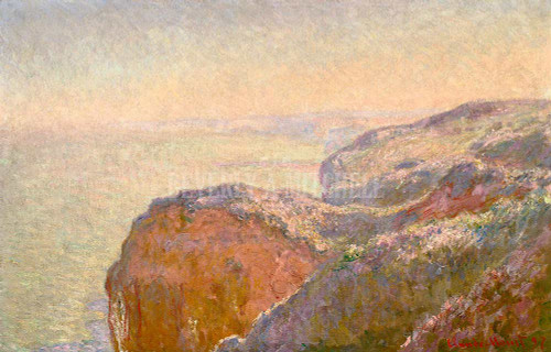 Val Saint Nicolas Near Dieppe Morning By  Monet Claude