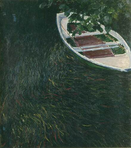 The Boat By Claude Monet