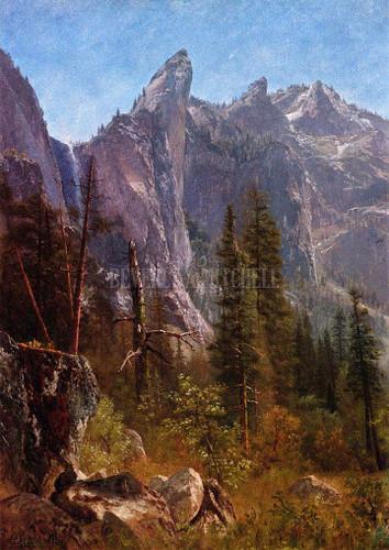 Lost Arrow Yosemite Valley by Albert Bierstadt