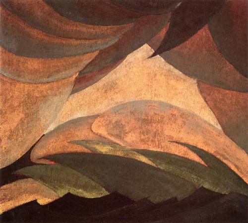 Golden Storm By Arthur Dove