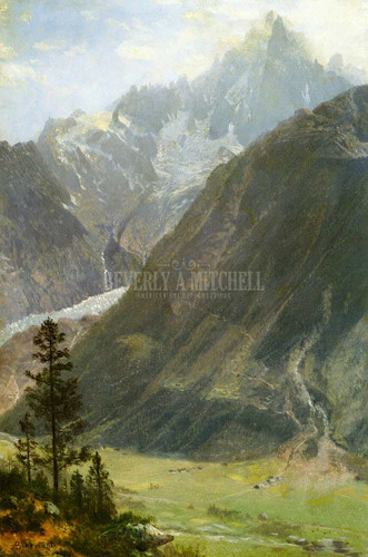 Mountain Landscape 12 by Albert Bierstadt