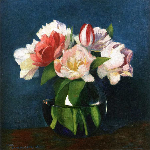 Floral Still Life By Hans Emmenegger