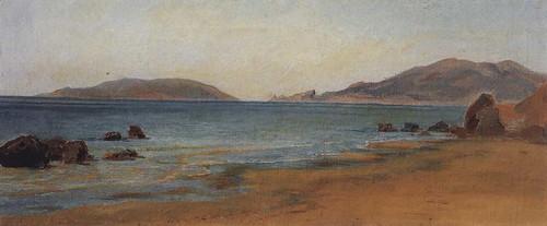 Bay In San Terenzo By Nikolai Nikolaevich Ge